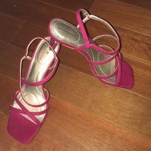 Bandolino Shoes - NEW Bandolino fuchsia pink Thin block heel shoes